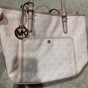 Light Pink Michael Kors Purse